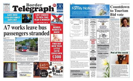Border Telegraph – October 16, 2019