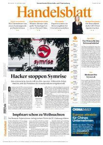 Handelsblatt - 16 Dezember 2020