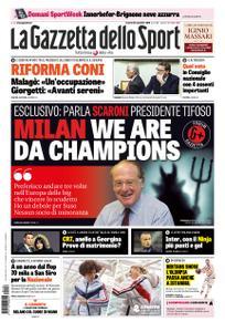 La Gazzetta dello Sport Roma – 16 novembre 2018