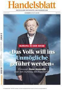Handelsblatt - 15. Juli 2016