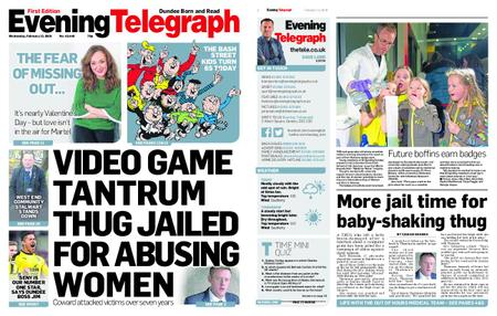 Evening Telegraph First Edition – February 13, 2019