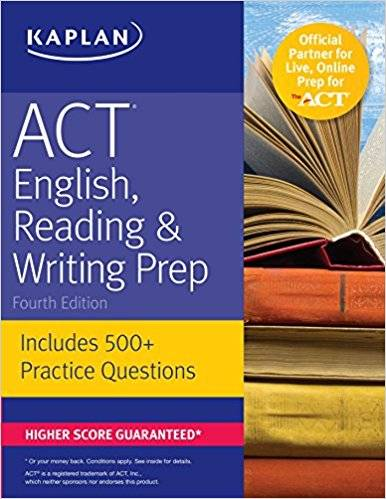 ACT English, Reading & Writing Prep: Includes 500+ Practice Questions