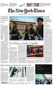 International New York Times - 09 March 2018