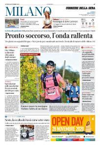Corriere della Sera Milano – 16 novembre 2020