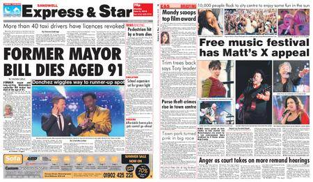 Express and Star Sandwell Edition – June 04, 2018