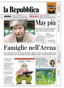 la Repubblica - 30 Marzo 2019