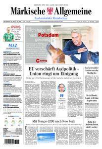Märkische Allgemeine Luckenwalder Rundschau - 30. Juni 2018
