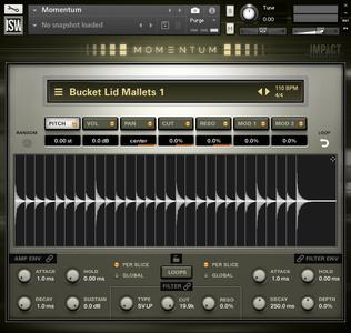 Impact Soundworks Momentum KONTAKT WAV REX