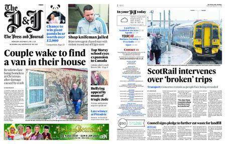 The Press and Journal Moray – December 12, 2018