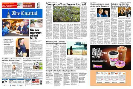 The Capital – September 14, 2018