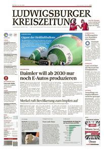 Ludwigsburger Kreiszeitung LKZ - 23 Juli 2021