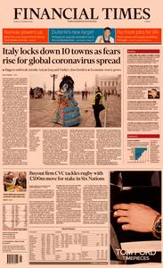 Financial Times Europe – 24 February 2020