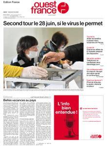 Ouest-France Édition France – 23 mai 2020
