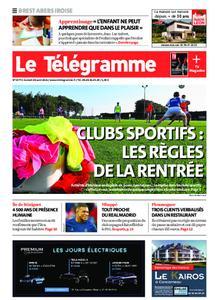 Le Télégramme Brest Abers Iroise – 28 août 2021