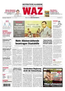 WAZ Westdeutsche Allgemeine Zeitung Oberhausen-Sterkrade - 12. Oktober 2017