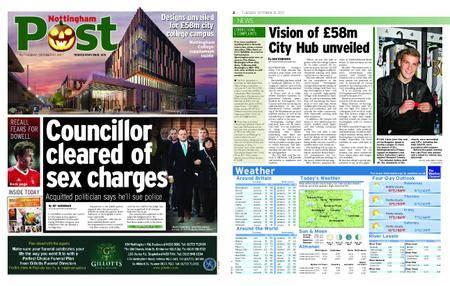 Nottingham Post – October 31, 2017
