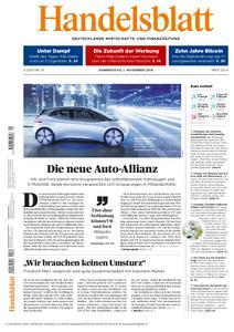 Handelsblatt - 01. November 2018