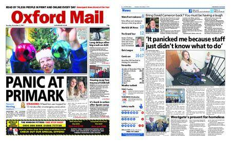 Oxford Mail – December 05, 2017