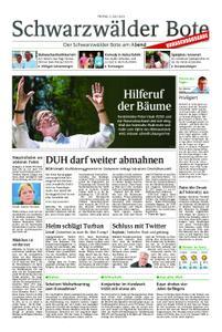 Schwarzwälder Bote Blumberg - 05. Juli 2019