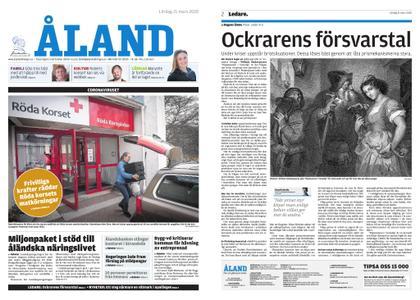 Ålandstidningen – 21 mars 2020