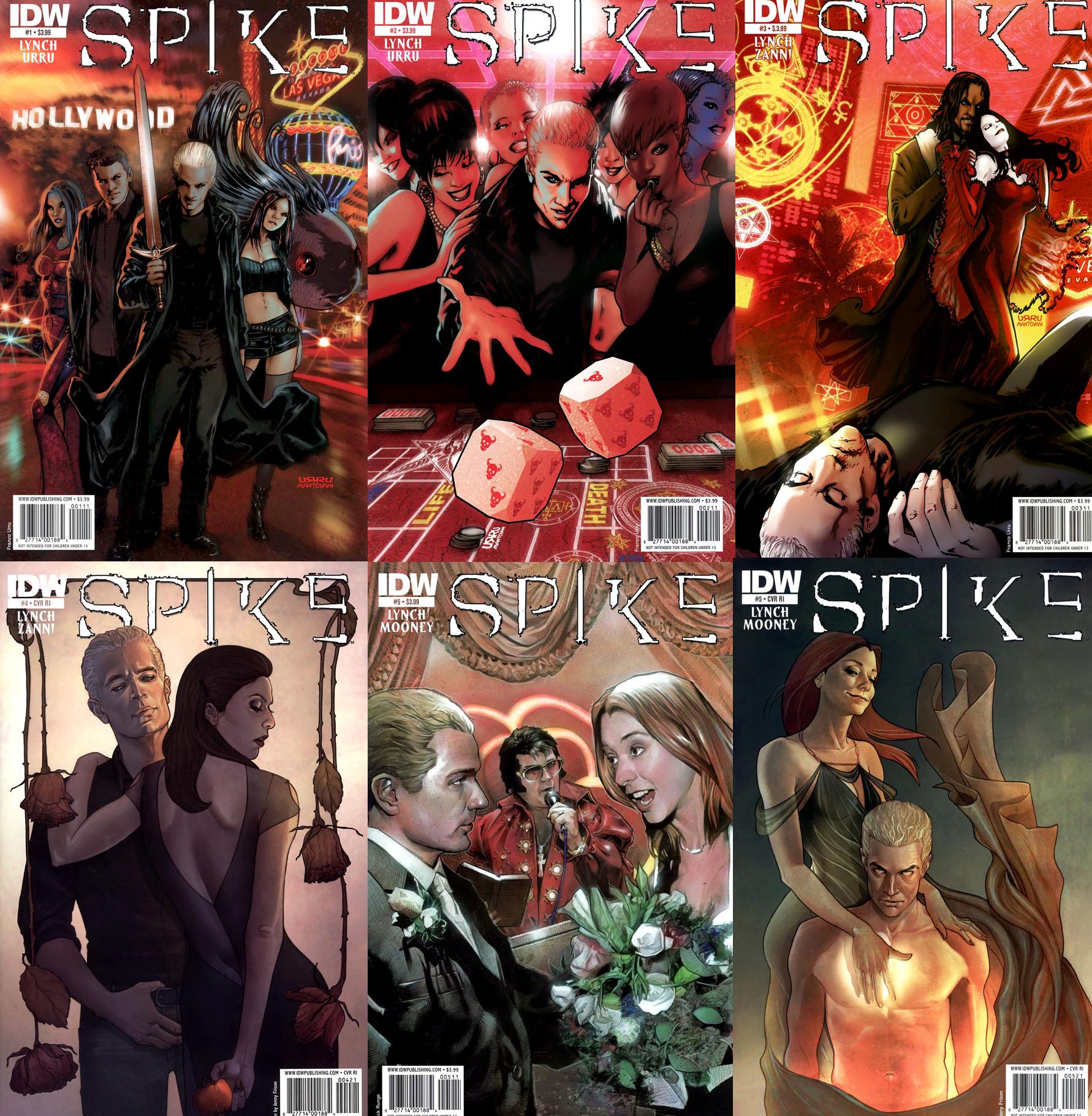 Spike #1-5 (of 8) (2010 - 2011)