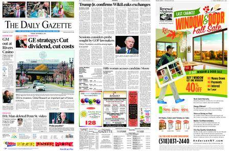 The Daily Gazette – November 14, 2017