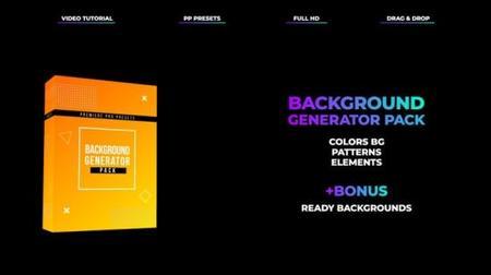 MotionArray Background Generator Pack 196385 - Premiere Pro Presets