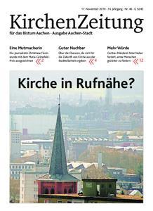 KirchenZeitung für das Bistum Aachen – 17. November 2019