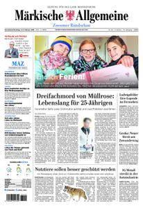 Märkische Allgemeine Zossener Rundschau - 03. Februar 2018