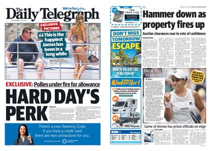 The Daily Telegraph (Sydney) – July 08, 2019