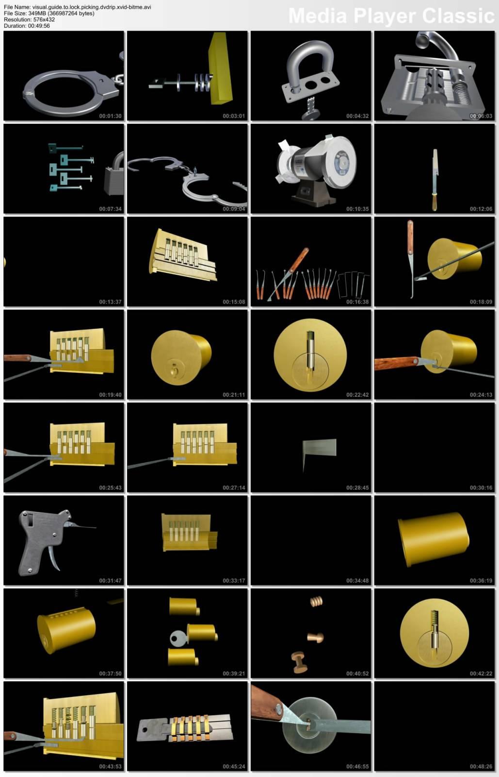 Visual Guide to Lock Picking