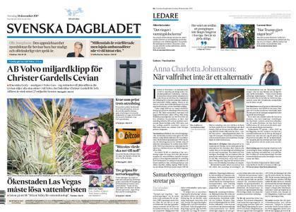 Svenska Dagbladet – 28 december 2017