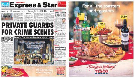 Express and Star Sandwell Edition – December 07, 2017