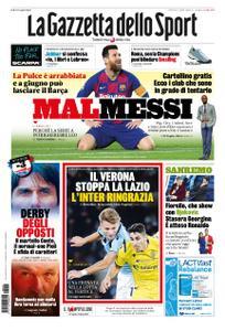 La Gazzetta dello Sport Roma – 06 febbraio 2020