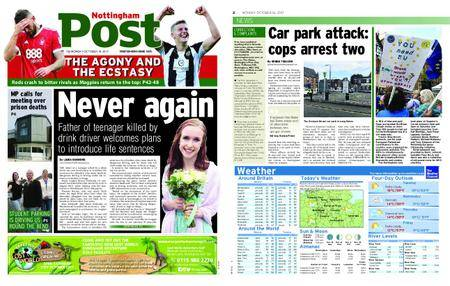 Nottingham Post – October 16, 2017