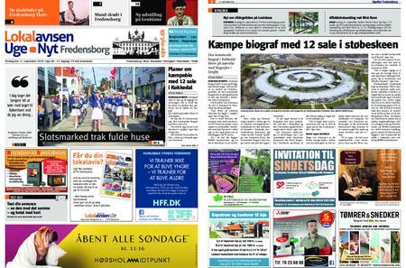 Lokalavisen Uge-Nyt Fredensborg – 17. september 2019