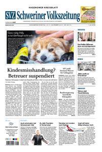Schweriner Volkszeitung Hagenower Kreisblatt - 16. November 2019