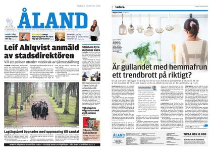 Ålandstidningen – 06 november 2018