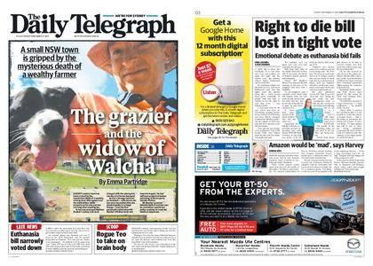 The Daily Telegraph (Sydney) – November 17, 2017