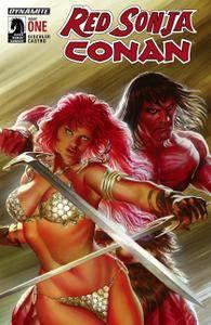 Red Sonja - Conan 001 2015 3 covers digital