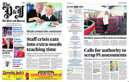 The Press and Journal Moray – September 22, 2018