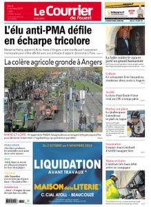 Le Courrier de l'Ouest Angers – 08 octobre 2019