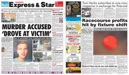 Express and Star Sandwell Edition – October 17, 2017