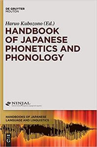 Handbook of Japanese Phonetics and Phonology