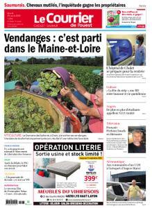 Le Courrier de l'Ouest Cholet – 25 août 2020