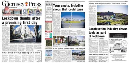 The Guernsey Press – 26 March 2020