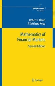 Mathematics of Financial Markets (Repost)