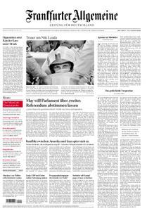 Frankfurter Allgemeine Zeitung F.A.Z. - 22. Mai 2019
