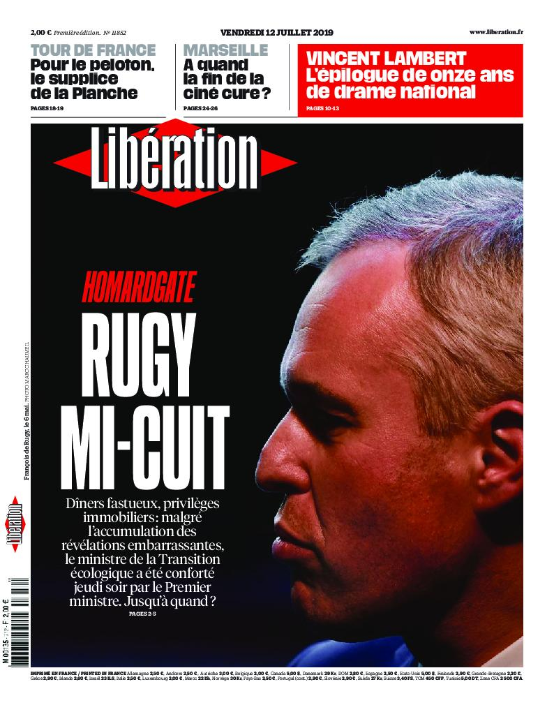 Libération - 12 juillet 2019