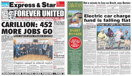Express and Star Sandwell Edition – February 06, 2018